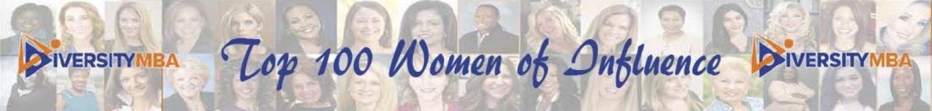 Top 100 Women of Influence