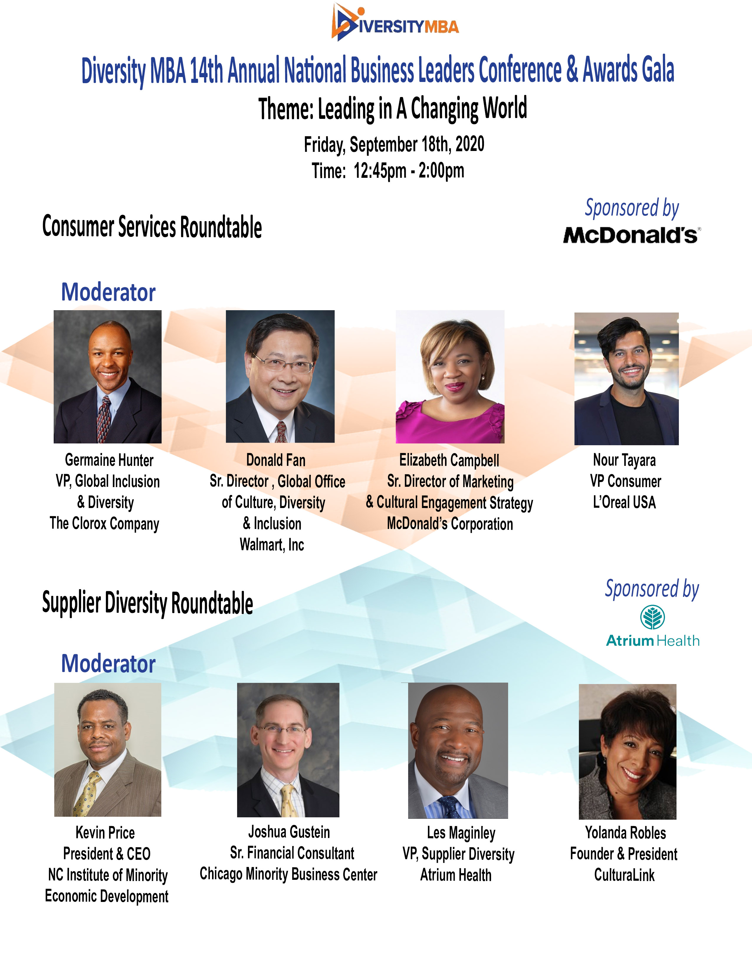 Consumer & Supplier Diversity Roundtable