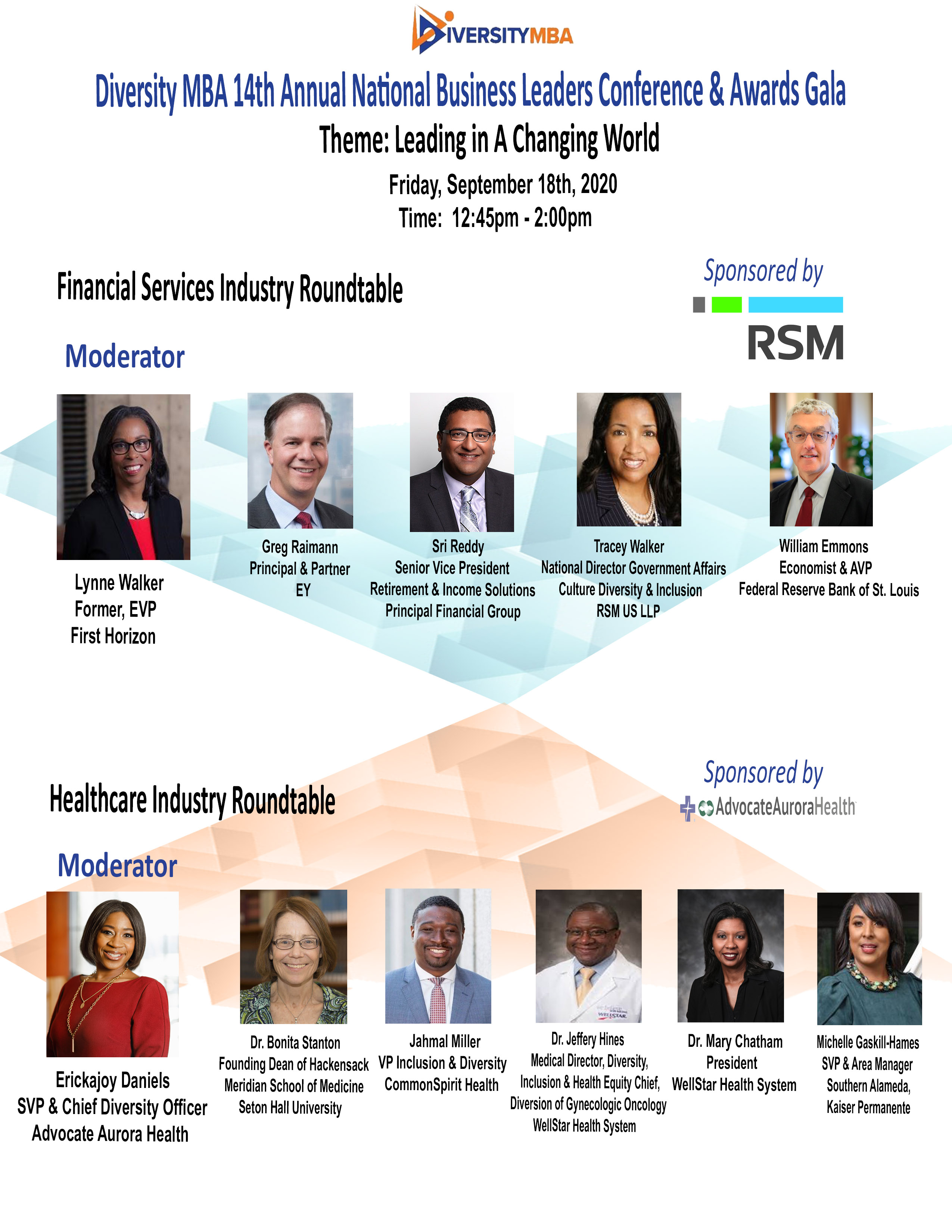 Financial & Healthcare Roundtable