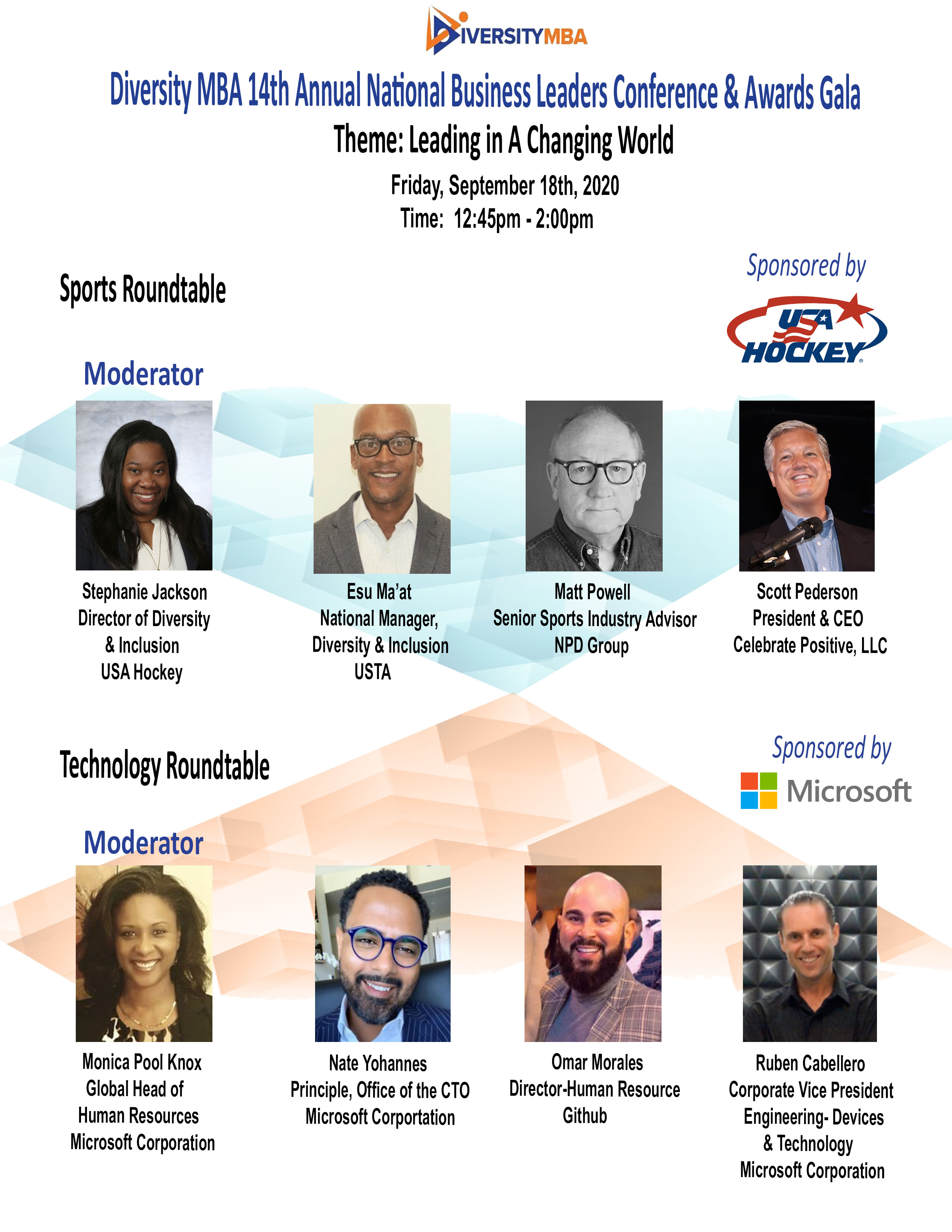 Sports & Technology Roundtable